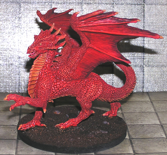 Size of Dragon miniatures? - General Fantasy - Reaper ...